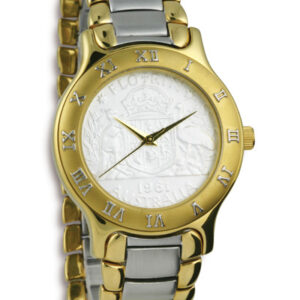 Gold and Silver Australian Florin Men's Coin Watch