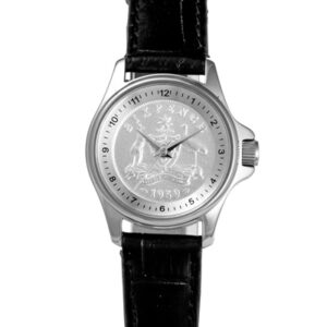 Silver Australian Sixpence Men's or Women's Coin Watch