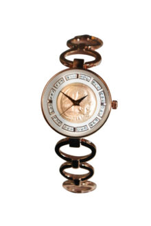Rose gold Australian One Cent Coin Ladies' Coin watch