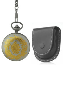 Raw Coin Face Australian Florin Men's or Ladies' pocket watch