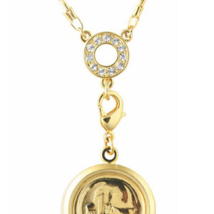 Women's Australian 1 Cent Coin pendant necklace