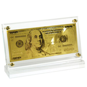 Desktop United States $100 Note memorabilia piece