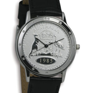 Silver Australian Florin Men's or Women's Coin watch