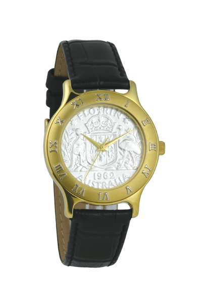 Australian Florin Men's or Women's Coin watch