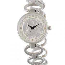 Silver Australian Sixpence Ladies' Coin watch