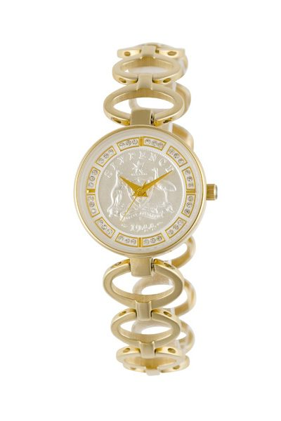 Australian Sixpence Ladies' Coin watch