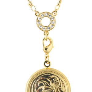 Women's Australian 2 Cent Coin pendant necklace